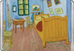 The Bedroom MiniPix® Puzzle Fine Art Miniature Puzzle