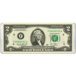$2 Banknote (Mini) United States Miniature Puzzle
