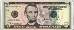 $5 Banknote MiniPix® Puzzle Currency Miniature Puzzle