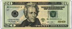 $20 Banknote MiniPix® Puzzle Currency Miniature Puzzle