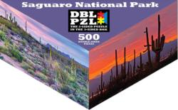 Saguaro National Park National Parks Triangular Puzzle Box