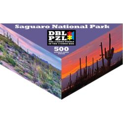 Saguaro National Park National Parks Triangular Puzzle Box