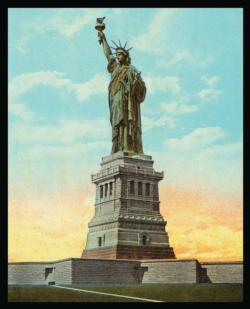 Statue of Liberty - Scratch and Dent Statue of Liberty Jigsaw Puzzle
