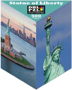 Statue of Liberty Statue of Liberty Double Sided Puzzle