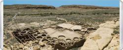 Chaco Culture National Historical Park MiniPix® Puzzle National Parks Miniature Puzzle