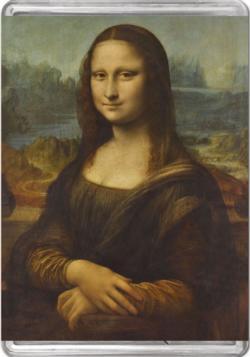 Mona Lisa MiniPix® Puzzle Fine Art Miniature Puzzle