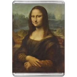 Mona Lisa Fine Art Miniature Puzzle