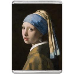 Girl With a Pearl Earring Fine Art Miniature Puzzle
