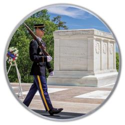 Tomb Of The Unknowns (Mini) Military / Warfare Round Jigsaw Puzzle