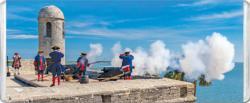 Castillo De San Marcos Cannon MiniPix® Puzzle Military / Warfare Miniature Puzzle