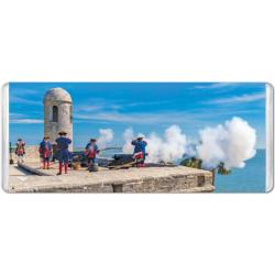 Castillo de San Marcos Cannon Military / Warfare Miniature Puzzle