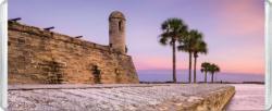 Castillo De San Marcos View MiniPix® Puzzle Seascape / Coastal Living Miniature Puzzle