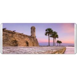 Castillo de San Marcos View Seascape / Coastal Living Miniature Puzzle