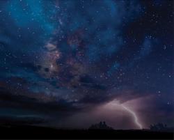 Night Sky Drama Photography Jigsaw Puzzle