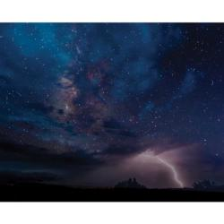 Night Sky Drama Photography Jigsaw Puzzle