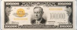 $100,000 Banknote MiniPix® Puzzle Currency Miniature Puzzle