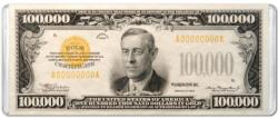 $100,000 Banknote Everyday Objects Miniature Puzzle