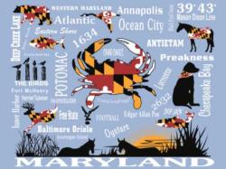 Maryland's Best Seascape / Coastal Living Jigsaw Puzzle