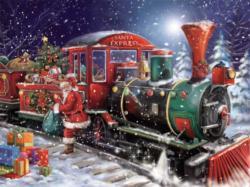 Santa Express Santa Jigsaw Puzzle