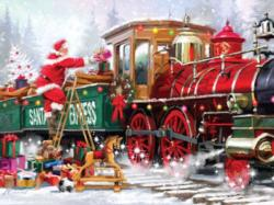 Loading Up - Santa Express II Santa Jigsaw Puzzle