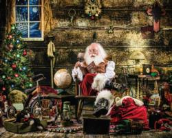 Naughty or Nice Santa Jigsaw Puzzle