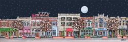 Main Street Christmas Christmas Panoramic Puzzle