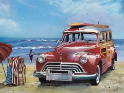 Surfin' USA Beach Jigsaw Puzzle