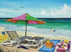 Coasting Through Beach Jigsaw Puzzle