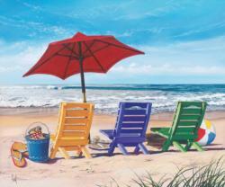 Beachy Keen Beach Jigsaw Puzzle