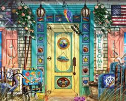 The Beach House Cottage / Cabin Jigsaw Puzzle