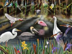 Coastal Birds Landscape Jigsaw Puzzle