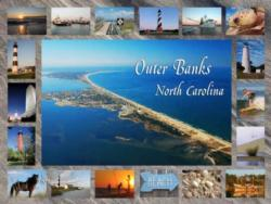 Outer Banks, NC Seascape / Coastal Living Jigsaw Puzzle
