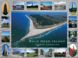 Bald Head Island Seascape / Coastal Living Jigsaw Puzzle