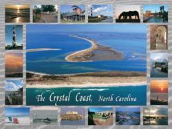 The Crystal Coast Seascape / Coastal Living Jigsaw Puzzle