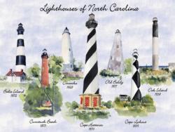 Lighthouses of North Carolina Lighthouses Jigsaw Puzzle