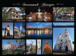 Savannah, GA Cities Jigsaw Puzzle
