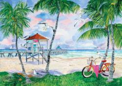 Bike to the Beach Summer Jigsaw Puzzle