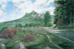 Grandfather Mountain Mountains Jigsaw Puzzle