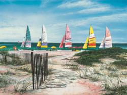 Coastal Salute Beach Jigsaw Puzzle