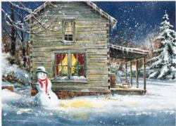 Holiday Retreat Cottage / Cabin Jigsaw Puzzle