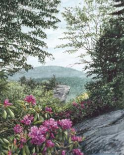 Blue Ridge Majesty Mountains Jigsaw Puzzle