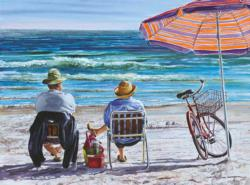 Idle Time Beach Jigsaw Puzzle