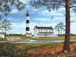 Bodie Island Lighthouse Lighthouses Jigsaw Puzzle