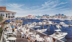 Dockside Beach Jigsaw Puzzle