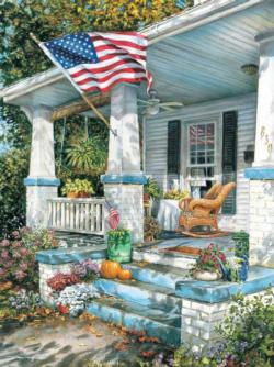 American Way - Scratch and Dent Americana & Folk Art Jigsaw Puzzle