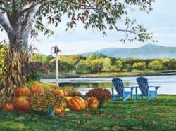 Adirondack View Thanksgiving Jigsaw Puzzle