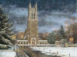 Winter Glory Churches Jigsaw Puzzle