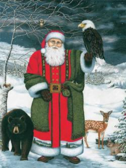 St. Nicholas at Grandfather Santa Jigsaw Puzzle