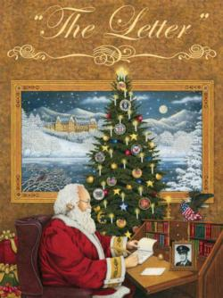 The Letter Santa Jigsaw Puzzle