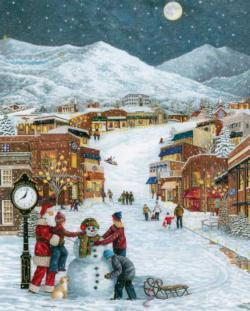 Winter Wonderland Christmas Jigsaw Puzzle